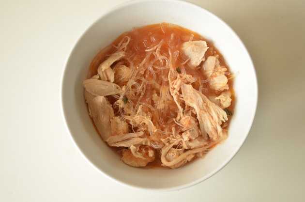 Paleo Chicken Fideo