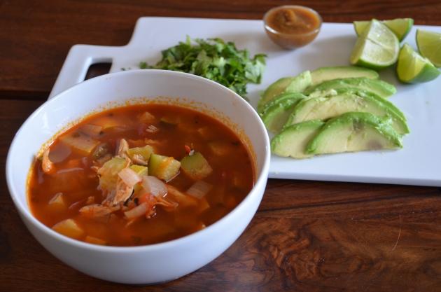 No tortilla soup