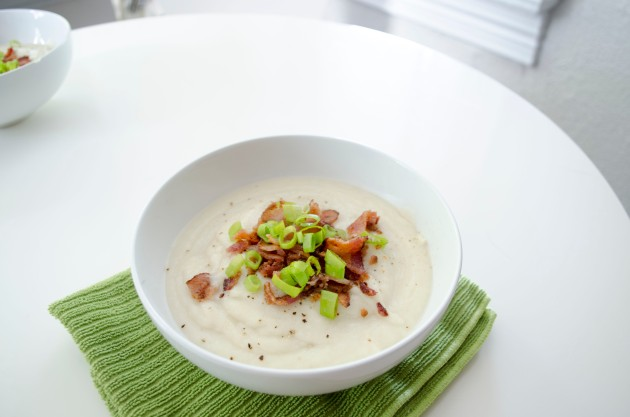 Cauliflower Turnip Soup
